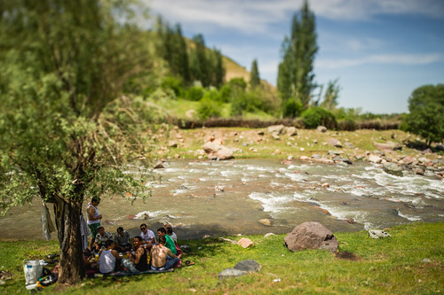 Happy independence day; Sanginek, Uzbekistan