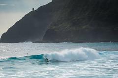 Drop knee! (Mardi Labuguen) Tags: hawaii surf waves oahu outdoor honolulu makapuu