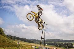 Motocross Action (Stefan Lorse) Tags: bike sport germany deutschland jumping action outdoor saxony dirt sachsen motocross motorsport dreck motorrad crossbike tamron70300mm strobist sportfotografie sportphotography canoneos50d canonef1022mm