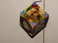 Mbile (Atelier ArthSarah!) Tags: paper origami modular japo papel bola dezembro tesoura sorte mbile tsuru dobradura longevidade dobras pendurar kudusama