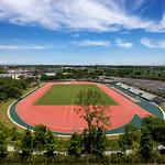 競技場の写真