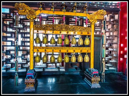 Beijing (Pekin): Palacio de verano, campanas