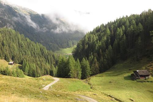 Aufstieg Elberfelderhütte am 15.09.2015