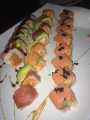 Sushi Platter - Green Wasabi (alpalmer71) Tags: food green sushi wasabi
