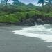 Hawaii Maui Waianapanapa Park Black sand beach