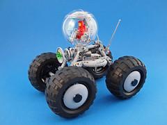 CS Bubble Quad (David Roberts 01341) Tags: lego offroad 4x4 technic scifi minifig bauble quadbike allterrain minifigure classicspace