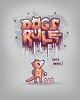 Dogs rule (randyotter) Tags: food silly color art fruit illustration children design cool funny awesome vegetable artsy buy colourful threadless clever whimsical puns randyotter
