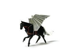 Pegasus (Al3bbasi.) Tags: sculpture horse art animal paper design origami pegasus fantasy mythical wingedhorse kamiyasatoshi al3bbasi
