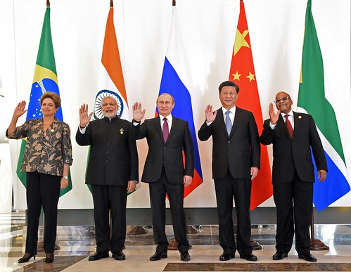 BRICS leaders meet at G20 Summit, 15 Nov 2015