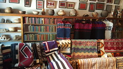 Navajo Blankets for sale at the Hubble Trading Post