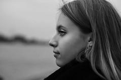 Tessa (Kat.Aitch) Tags: portrait woman white black girl photography kat profile aitch
