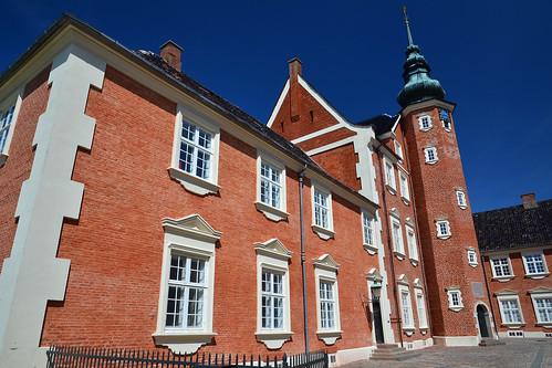 Jægerspris Slot, with polariser