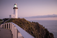 Byron Bay Lighthouse, Australia (noeltock) Tags: morning sky lighthouse sunrise point dawn early nationalpark dof clear nsw newsouthwales shallow byronbay capebyron easternmost