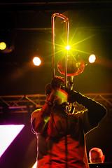 (BTKoch) Tags: summer musician music tattoo colorado livemusic loveland trombone fleurdelis musicfestival brassinstrument tromboneshorty richvogel