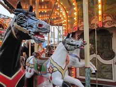 Heidelberg Carousel Horses (Nancy D. Brown) Tags: horses germany carousel heidelberg merrygoround carouselhorse vikingrivercruise heartofgermany