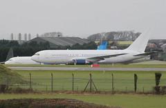 ZS-DJI parked. (aitch tee) Tags: aircraft parked jetliner walesuk stathan zsdji