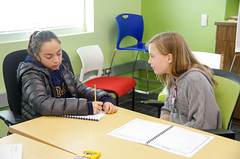NA20151201-014.jpg (Menlo Photo Bank) Tags: ca girls people usa fall students writing us technology engineering science math mountainview smallgroup middleschool academics 2015 menloschool bayareatravel photobyninaarnberg
