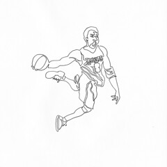 a single line drawing of KOBE BRYANT which is also available on a t shirt in below link for only $20 if pre purchased. (Chad Coombs) Tags: party get art tattoo illustration ink paper naked nude lets chad flash fine joe line jordan ali kobe single topless etc carter bryant yadda micheal pantless muhammad michealjordan coombs yada oneliner kobebryant oneline unsceneart joecarter cchadcoombs asingleline muhammaali