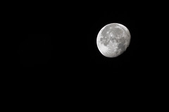 """Morning Moonshot"" (milmonfharrison) Tags: septembermoon dark sky mm f4556 7003000mm"