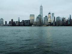 World Trade Center  9-24-16 (local1256) Tags: skyline newyorkcity newyorkskyline manhattan hudsonriver worldtradecenter wtc buildings tower