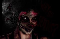 joker (Glen Parry Photography) Tags: horror horrorphotography gore macabre darkimages dark darkart photography photoshop studiophotography nikon d7000 glenparryphotography girl model portrait studio