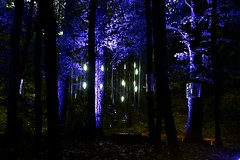 2016 - 14.10.16 Enchanted Forest - Pitlochry (26) (marie137) Tags: enchanted forest pitlochry mobrie137 scotland lights music people water reflection trees shows food fire drink pit patter shapes art abstract night sky tour family walk path bells smoke disco balls unusual whisperer bridge wood colour fun sculpture day amazing spectacular must see landscape faskally shimmer town