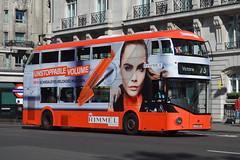LT 353 (LTZ 1353) Arriva London New Routemaster (hotspur_star) Tags: londontransport londonbuses londonbus londonbuses2016 wrightbus boirisbus borismaster newbusforlondon newroutemaster nb4l tfl transportforlondon hybridbus hybridtechnology arrivalondon lt353 ltz1353 alloveradvert advertlivery advertisinglivery advertbus rimmel doubledeck busscene2016