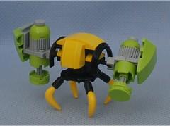Grinder 6 (Mantis.King) Tags: lego legogaming legomecha moc mechaton mobileframezero mfz mf0 microscale mecha mech multiped scifi futuristic wargames