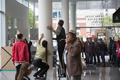drama (pandeesh89) Tags: sanfrancisco california unitedstates us street trolley dance stage tale telling people nature interaction magic weekend yerba buena fun museum arts center