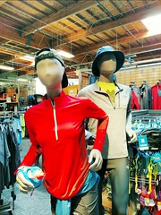 Run Run Run (Thad Zajdowicz) Tags: mannequin run running cap jacket fashion store indoor 366 365 zajdowicz arcadia california cellphone availablelight aviary color red bright vivid motorola droid turbo smartphone inside cameraphone android mobile