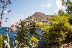 Hydra - Italianate Hillside Mansions 5 (Le Monde1) Tags: greece island hydra port coast monastery greek lemonde1 nikon d800e saronicislands aegean sea town italianate mansions hillside