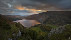 The Last Light Over Tay... (fearghal breathnach) Tags: loughtay sunset autumn light lake longexposure calm clouds cloudsstormssunsetssunrises landscape 5d eos5d canoneos5dmarkiii canon wideangle ef1635mmf4lisusm wicklow ireland wicklowmountains