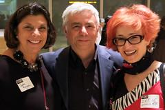 Cathy Randall, Alex and Irene Shaland