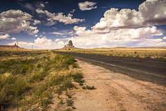 Road to Monument Valley (Fabio Tode ) Tags: monumento monument valley monumentvalley arizona utah desert sky colors panormama landscape street road prospettiva prospect fabiotode nikon d7200 sigma polar haida filter