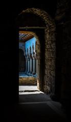 Claustre (Jacint) Tags: claustro romanico cloister romanesque sant pere de casserres catalonia catalunya catalua osona sau