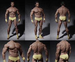PHICEN PL2016-M34 Male Muscular Builder - 08 (Lord Dragon ) Tags: 16scale 12inscale onesixthscale actionfigure doll hot toys phicen seamless male body