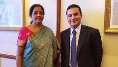 BRICS - 13/10/2016 (mdic.gov.br) Tags: ministra comrcio indstria ndia senhora nirmala sitharaman mdic marcos pereira