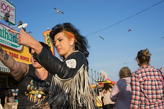 Mohawk (dtanist) Tags: nyc newyork new york city newyorkcity sonya7 contax zeiss carlzeiss carl planar 45mm brooklyn coney island boardwalk mohawk hairstyle hair