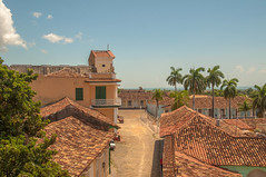Trinidad (Nihil Baxter007) Tags: cuba kuba trinidad stadt ciudad city strase street calle unesco palms palmen sightseeing dcher dach roofs roof old kolonial