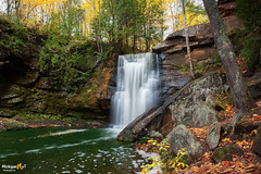 Hungarian Falls (Michigan Nut) Tags: waterfall michigan upperpeninsula autumn fall hungarianfalls scenic leaves midwest fairytail stream creek waterfalls longexposure flowing water soft nature forest usa