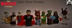 Classic Movie Monsters (10/10) (Random_Panda) Tags: lego figs fig figures figure minifigs minifig minifigures minifigure purist purists character characters horror halloween figbarf