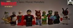 Classic Movie Monsters (10/10) (Random_Panda) Tags: lego figs fig figures figure minifigs minifig minifigures minifigure purist purists character characters horror halloween figbarf