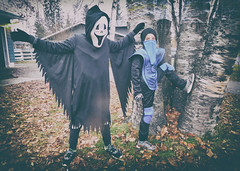 ghost|ninja (DJHuber) Tags: elijah marcus ghost ninja kids halloween 2016 costumes spooky
