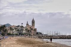 Sitges - Santa Tecla y San Bartolomé (Ventura Carmona) Tags: españa spain spanien cataluña catalunya sitges santatecla sanbartolomé venturacarmona