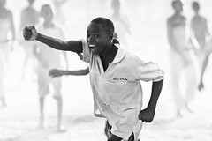 Street soccer, Tanzania (Dietmar Temps) Tags: africa afrika afrique tanzania tansania lakevictoria ukerewe nansio tribes waha ethnic ethnology ethnie culture tradition traditional ritual people faces children boys school fun soccer streetsoccer streetphotography sport