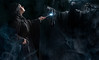 Snape and the Dementor (SteampunkWinny) Tags: harry potter severus snape dementor shooting spell expecto patronum