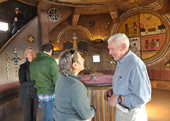 2016 Grand Canyon History Symposium Desert View Watchtower 0460 (Grand Canyon NPS) Tags: grandcanyon historical society 2016symposium desert view watchtower tour hopi artist fred kabotie murals mary colter historic building room jan balsom