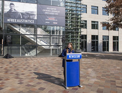 Delphine Halgand, RSF US Director, remarks on the #FreeAustinTice campaign.