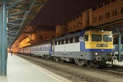 "train ""Transbalkan"" au dpart de Budapest Keleti pu (Trains-En-Voyage) Tags: mavv43 mav transbalkan budapest hongrie cfr"