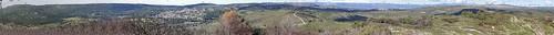 Pélissanne 1/2 - Rocher de Caronte 290m panorama légendé 360°